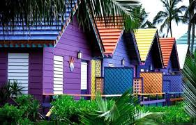 colorful exterior painting ideas adding fun to outdoor home decorating