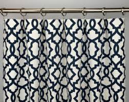 quatrefoil curtains etsy