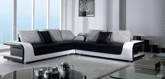 elegant quality leather l shape sectional with pillows mobile