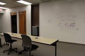 projection whiteboard wall rod library