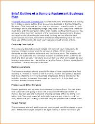 restaurants business plan business plan cmerge