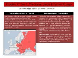 Eastern Europe Iron Curtain Cold War