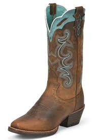 justin silver blue embroidered cowgirl boots wedding boots