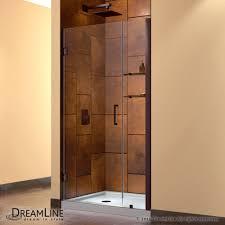 24 Frameless Shower Door Hinged Shower Door