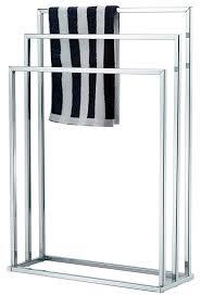 taylor u0026 brown free standing chrome 3 bar towel rail rack holder