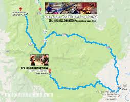 Hmong Map Doi Inthanon The Highest Mountain In Thailand Motogirl Thailand
