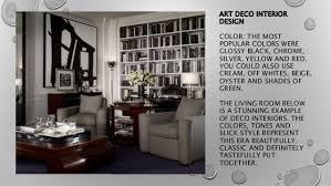 Art Deco Interior Designs Art Deco