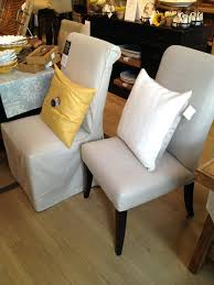 pottery barn slipcovers for dining room chairs wingback chair sale