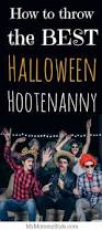 how to throw the best halloween hootenanny my mommy style