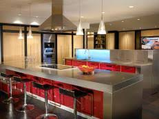 Copper Kitchen Countertops Metal Countertops Copper Zinc And Stainless Steel Hgtv