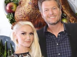 inside gwen stefani shelton s thanksgiving together