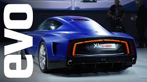 volkswagen xl1 volkswagen xl1 sport at paris 2014 evo motor shows youtube
