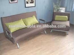 modern living room steel structure cheap fabric folding futon sofa