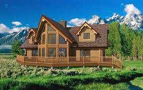 Log Homes Floor Plans With Pictures by Log Cabin Floor Plans Breckenridge Yellowstone Log Cabin