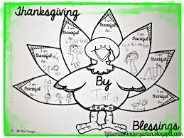 thanksgiving things to be thankful for list little miss kindergarten lessons from the little red schoolhouse