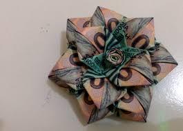 Cara Membuat Origami Bunga Dari Uang Kertas | origami uang bentuk bunga