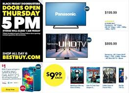 all sorts of black friday deals at best buy including 4k tvs and