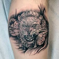 60 leopard tattoos for designs with strength and prowess