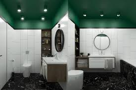 Forest Green Bathroom Rugs by A Modern Take On Soviet Minimalism In 3 Stylish Apartments