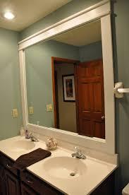 bathroom ideas great bathroom mirror frames for stylish