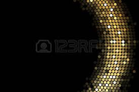 vector frame background with gold lights royalty free cliparts