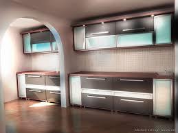 Glass Designs For Kitchen Cabinets Modern Blue Kitchen Cabinets Pictures Design Ideas