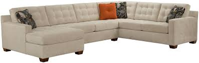 Bobs Furniture Farmingdale by Broyhill Furniture Tribeca Contemporary Sectional Sofa With Left