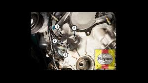 ford f150 f250 replace crankshaft position sensor how to ford trucks