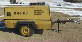 atlas copco xas85 air compressor item e5294 sold april