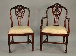 Mahogany Dining Room Chairs Carved Harrisburg Shieldback