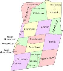 New York State Counties Map by File Rensselaercounty Map 2 Svg Wikimedia Commons