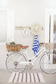 bicycle decorations home 22 best french country beach style images on pinterest