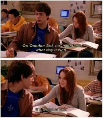 October 3 Meme - lol happy october 3rd mean girls p pinterest happy