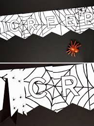 3 free printable banners for halloween paging supermom