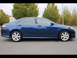 2007 toyota camry se v6 2007 toyota camry se v6 4dr sedan in federal way wa evergreen