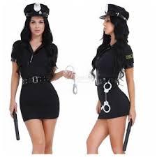 Police Woman Halloween Costume Police Women Officer Uniform Lady Fancy Dress