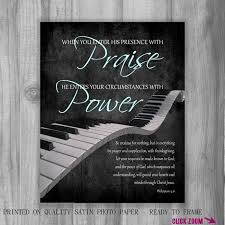 in prayer and supplication with thanksgiving worship leader gift piano scripture art philippians 4 6 7