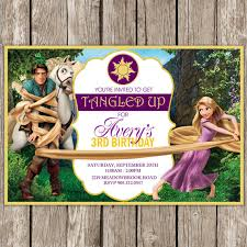 tangled inspired birthday invitation rapunzel birthday party