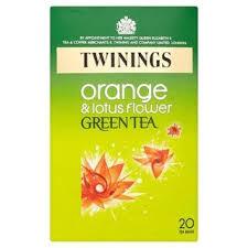 Lotus Flower Tea - twinings orange and lotus flower green tea bag pack of 20 40 g