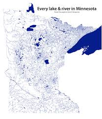 the waters of minnesota mapped