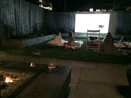 how to make a backyard movie theater mike adamick