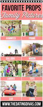 Family Picture Tips  amp  Ideas   The Dating Divas The Dating Divas Favorite Family Prop Ideas
