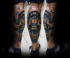 3d Tattoo Ideas For Men 50 3d Leg Tattoo Designs For Men Manly Ink Ideas