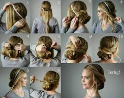 Hochsteckfrisurenen Zum Selber Machen Schulterlange Haare by Die Besten 25 Brautfrisur Selber Machen Ideen Auf