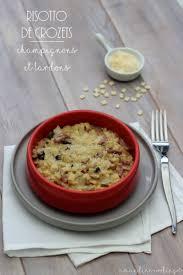 cuisiner les crozets risotto de crozets aux chignons et bacon amandine cooking