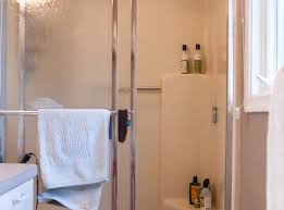 Replace Shower Door Glass by Shower Fiberglass Shower Door Showupmorepresent Custom Shower