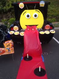 trunk or treat emoji theme for the kids pinterest holidays