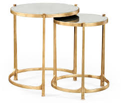 marble top nesting tables gold end table conception nesting tables side 19 tupimo com