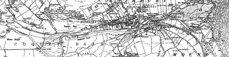 map of rothbury rothbury photos maps books memories francis frith