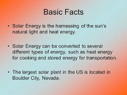 Light Energy Facts Alternative Fuels Propane Solar Energy Ppt Video Online Download